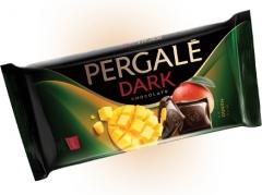 Темный шоколад Pergale с начинкой манго 100 гр