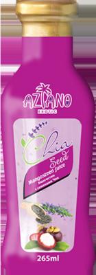 Aziano 30% нектар Мангостина с семенами чиа (265 мл)
