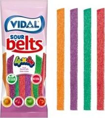 Мармелад Vidal 4x4 Ремень Кислый 100 гр