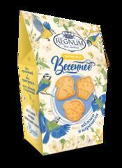 Печенье фигурное Regnum Весеннее со вкусом яблока в карамели 170 гр