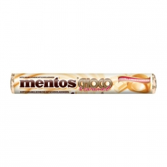 Mentos White Choco Caramels (Белый шоколад и Карамель)