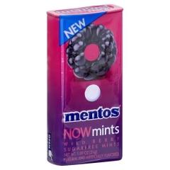 Драже Mentos NOW mints (wild berry) ж/б 31гр