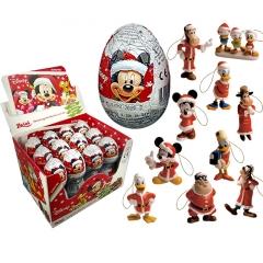 "Шоколадное яйцо с сюрпризом ""Микки Маус Зима"" 20 гр"