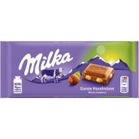 Milka Whole Hazelnuts 100 гр