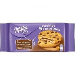 Печенье Milka Sensations с мягкой шоколадной начинкой 156 гр
