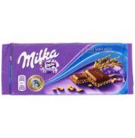 Шоколад Milka Crispy Rice Milk Chocolate (90 грамм)