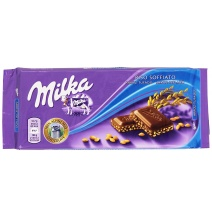 Шоколад Milka Crispy Rice Milk Chocolate (90 грамм)