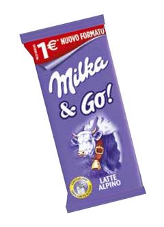 Milka & Go Latte Alpino 45гр