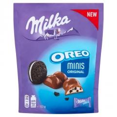 Шоколад Milka Oreo Minis Original 153г