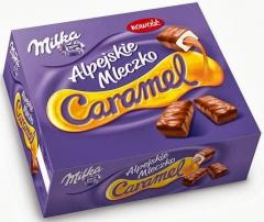 Milka Alpen Milk Caramel Chocolates 350 гр