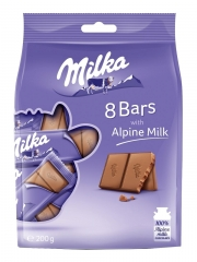 Шоколад Milka Snack Bag Alpine Milk 200 гр