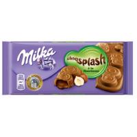 Milka Splash Hazelnut 90g