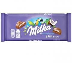 Milka Bubbly Cooconut Chocolate c кокосовой начинкой 100гр