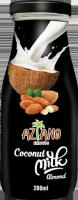 Кокосовое молоко Aziano с миндалем (Coconut milk original with Almond) 280 мл