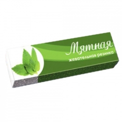 PLASTINKI жев. резинка Мятная 12.5 гр