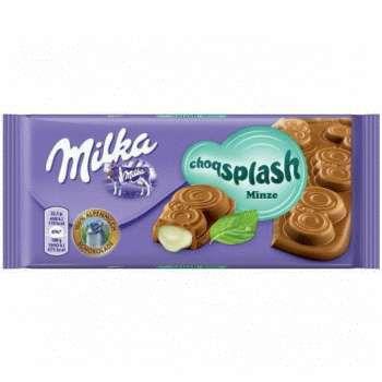 Milka Choqsplash Mint 90g