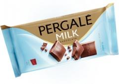 Молочный шоколад Pergale 93 гр
