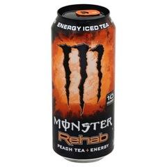 Энергетический напиток Monster Rehab Peach Iced Tea (Монстер Рехаб Персик Чай) 500мл