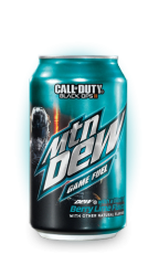 Mountain Dew Game Fuel Berry Lime Soda