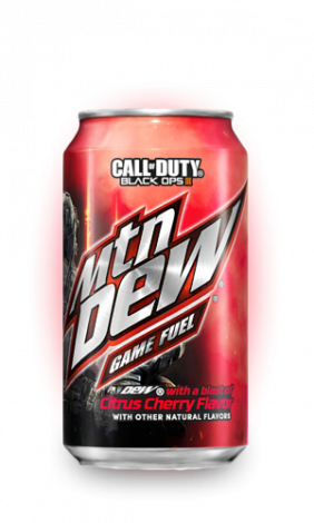 Mountain Dew Game Fuel Citrus Cherry Soda