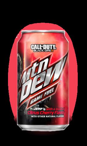 Mountain Dew Game Fuel Citrus Cherry Soda