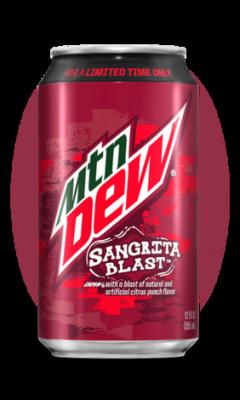 Mountain Dew Sangrita Blast