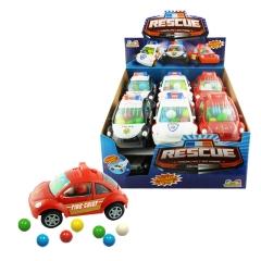Kidsmania Жевательные конфеты Спасательная Машинка 12гр