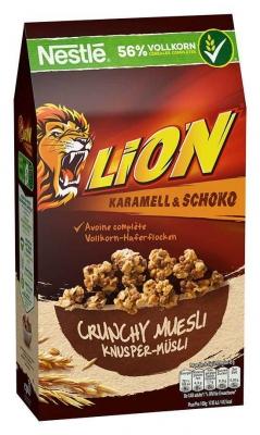 Мюсли Nestle Lion Карамель и Шоколад 420 гр