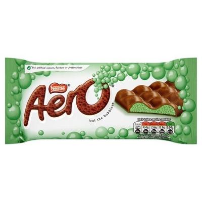 Nestle Aero Peppermint Chocolate 100g