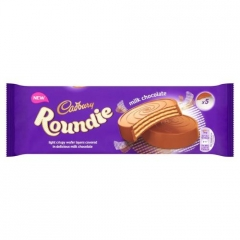 Cadbury Roundies Milk Chocolate Wafer 150g