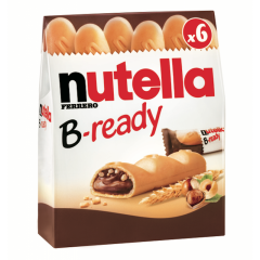 Nutella b-ready x6 132 gr