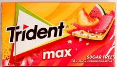 TRIDENT MAX персик-арбуз 27гр