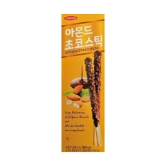 "Sunyoung Almond Choco Stick ""Шоколадные палочки с миндалем"" 54гр"