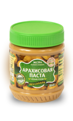 Арахисовая паста Азбука Продуктов без сахара 340гр