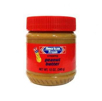 Паста арахисовая American Fresh кремовая 340 гр