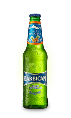 "Напиток ""Барбикан"" Ананас 0.33л"