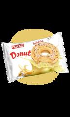 Пончик Nukka Donut Банановая начинка 40 гр