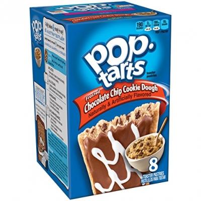 Печенье Pop Tarts 8 PS Frosted Chokolate Chip Cookie Dough 400 грамм