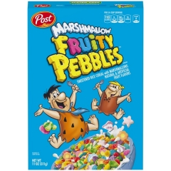 Готовый завтрак Fruity Pebbles with Marshmallows 311гр
