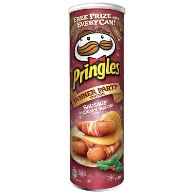 Чипсы Pringles Sausage & Bacon 190г