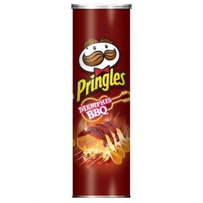 Чипсы Pringles Memphis Orig BBQ 158 гр