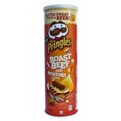 Чипсы Pringles Ростбиф с горчицей Картофельные чипсы 165гр