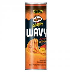 "Pringles WAVY ""Копченый Чеддр"" 137гр"