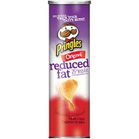 Pringles Original Reduced fat 158гр (Обезжиренные)