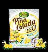 Конфеты Lutti Pina Colada Ball 120 гр