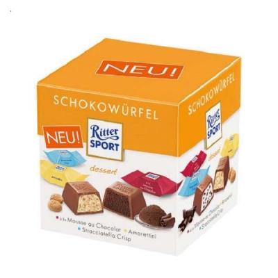Ritter Sport Choco Cubes dessert 176 грамм
