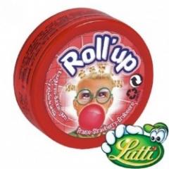 Жевательная резинка Lutti Roll-up Strawberry (1метр) 29 грамм