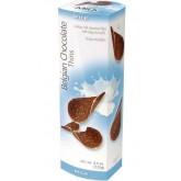 Шоколадные чипсы Belgian Chocolate Thins Milk 80гр
