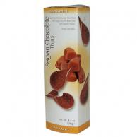 Шоколадные чипсы Royal Chocolates Belgian Chocolate Thins Caramel 80гр