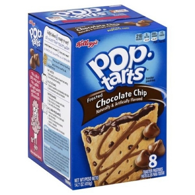 Печенье Pop Tarts 8 PS Frosted Chocolate  Chip 416 грамм